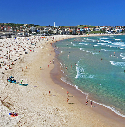 image of bondi beach